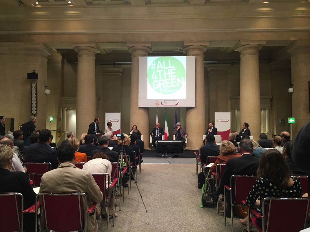 #ALL4THEGREEN announced in Rome on May 29th, 2017.