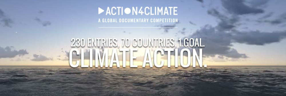 The Action4Climate competition challenged filmmakers to raise awareness of climate change, share experiences and inspire action by creating a video documentary.