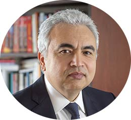 Dr Fatih Birol, the Executive Director of the International Energy Agency (IEA)