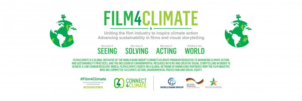 Film4Climate, uniting the film industry to inspire climate action.