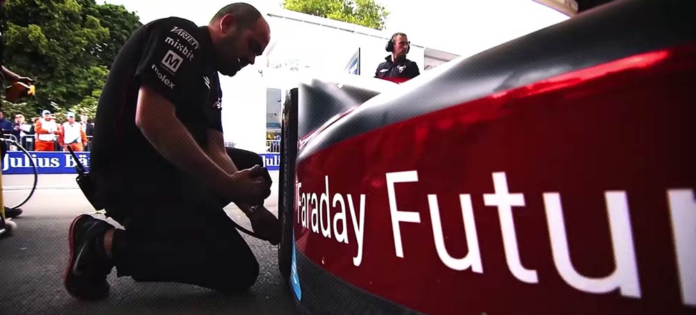 Garage visits overview FIA Formula E