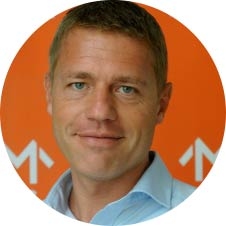 Michael Pedersen, founder of M INC. > change the game