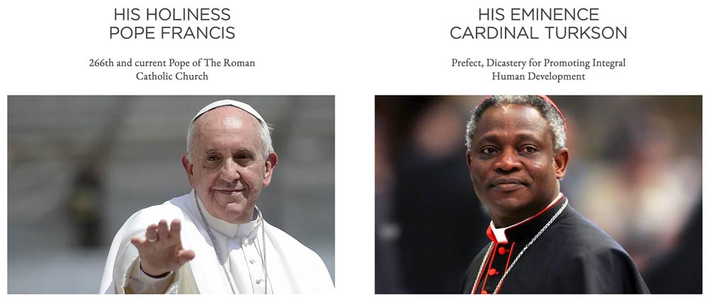 Pope-Francis-Cardinal-Turkson-Laudato-Si-Challenge