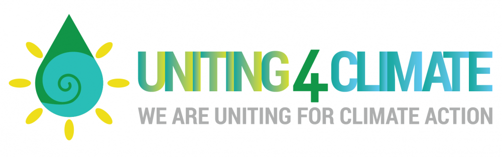 #Uniting4Climate Campaign Logo