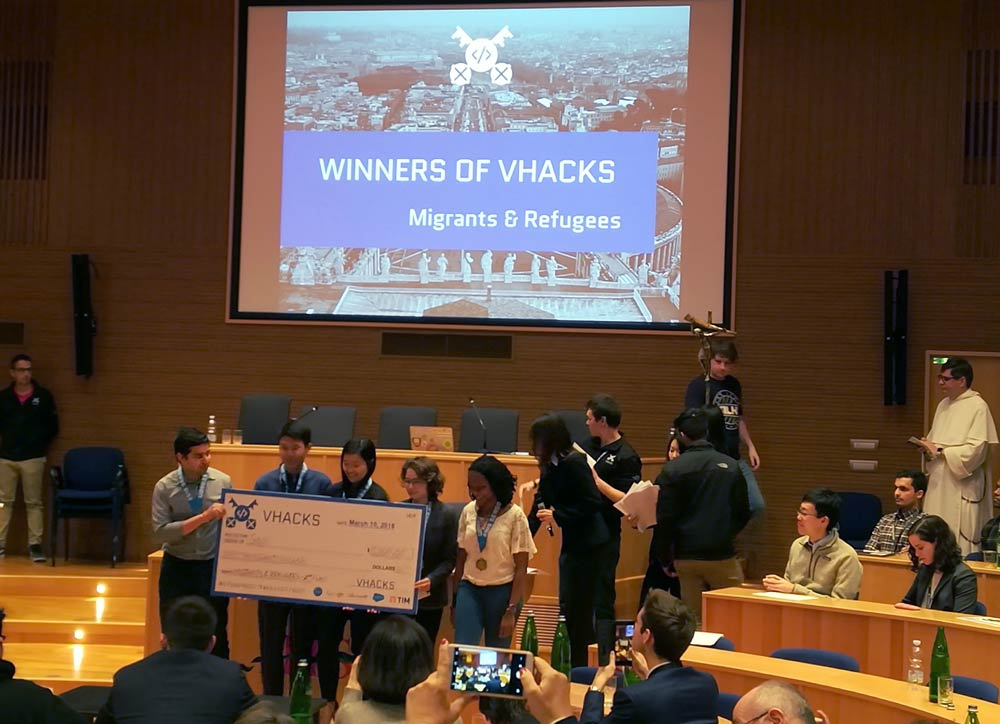VHacks - Hackathon at the Vatican
