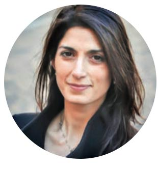 Virginia Raggi, the Mayor of Rome