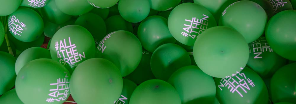 All4TheGreen balloons, Photo Credit: Riccardo Savi