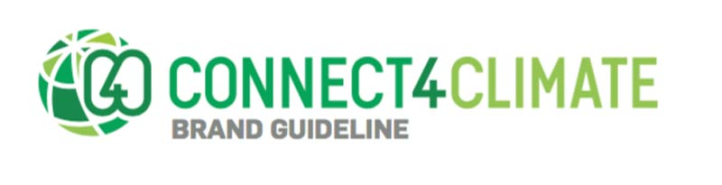 Connect4Climate Logo - Brand Guidelines