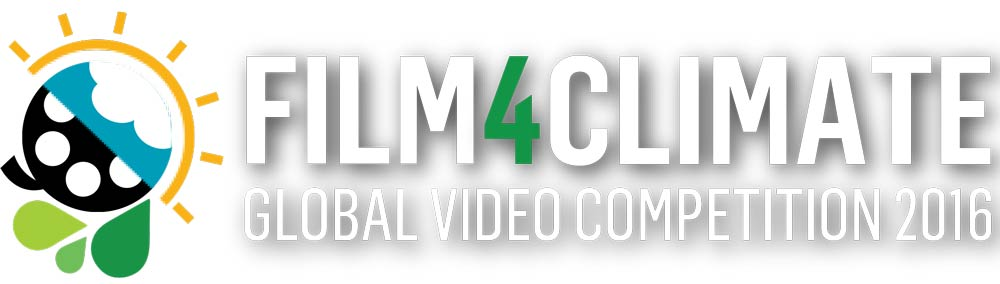 Film4Climate Competition Logo (White Shadow)