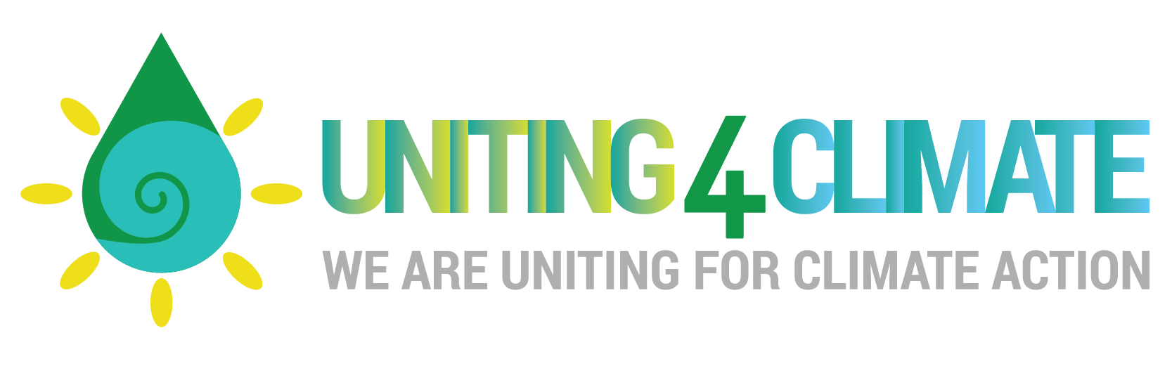 #Uniting4Climate Campaign Logo