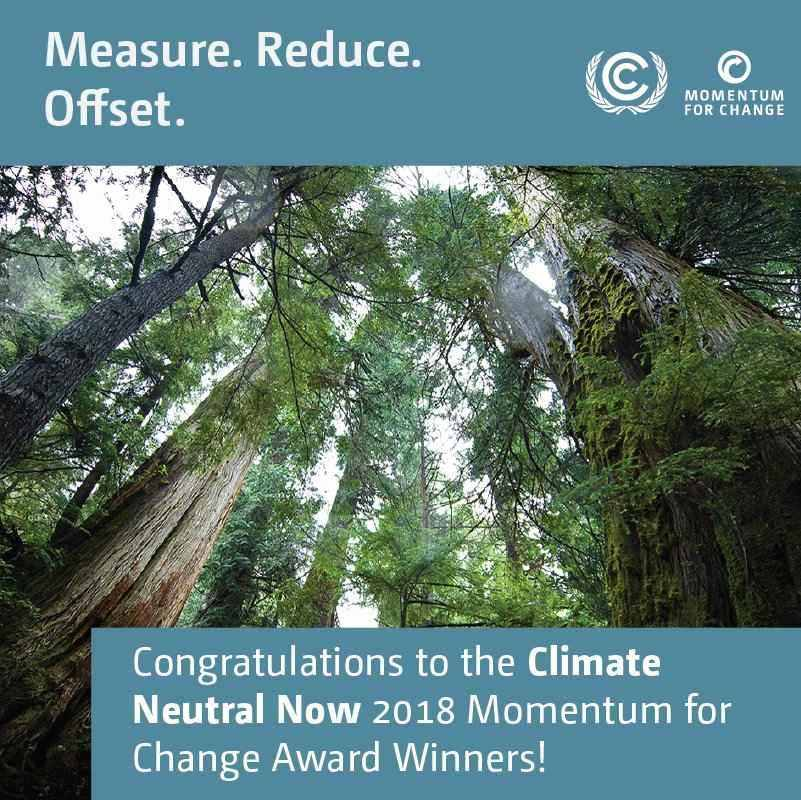 Climate Neutral Now - Momentum for Change UNFCCC