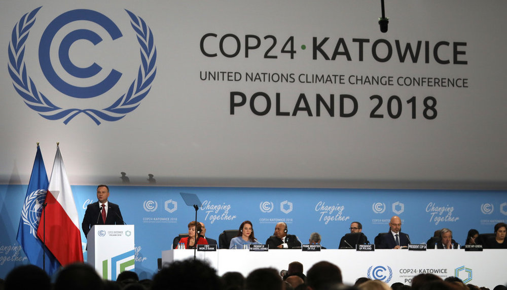 COP24 in Katowice, Poland.