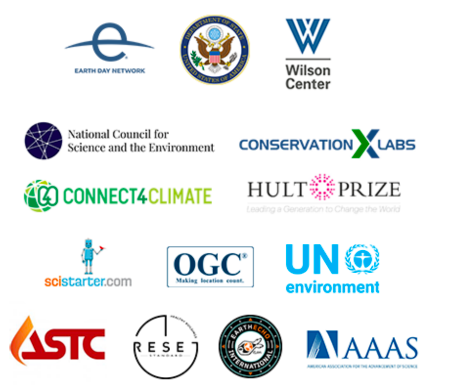 Earth Challenge 2020 Partners
