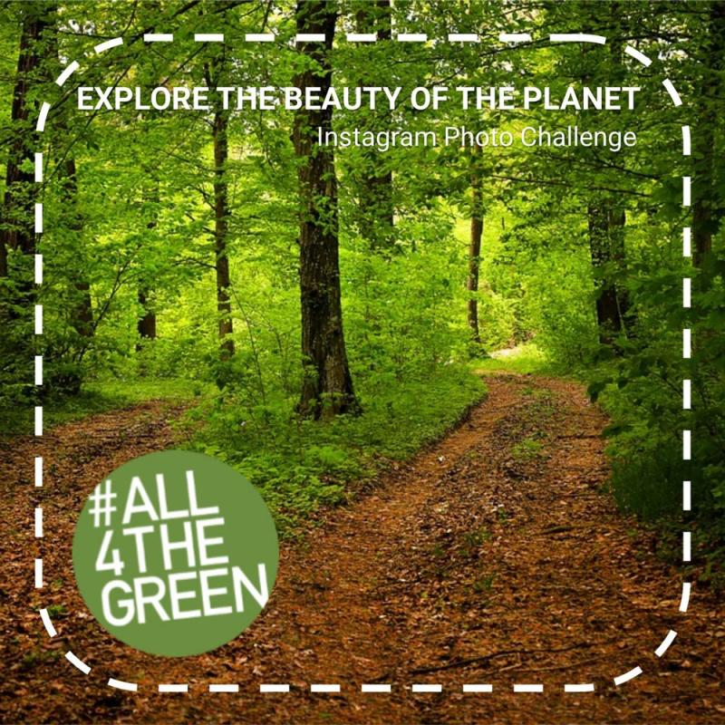 Explore the beauty of the planet, Photo4Climate Instagram Photo Challenge, #All4theGreen