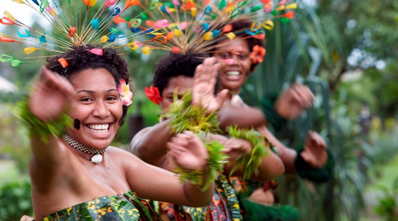 Pacific Dancers Singers And Youth Voices To Connect