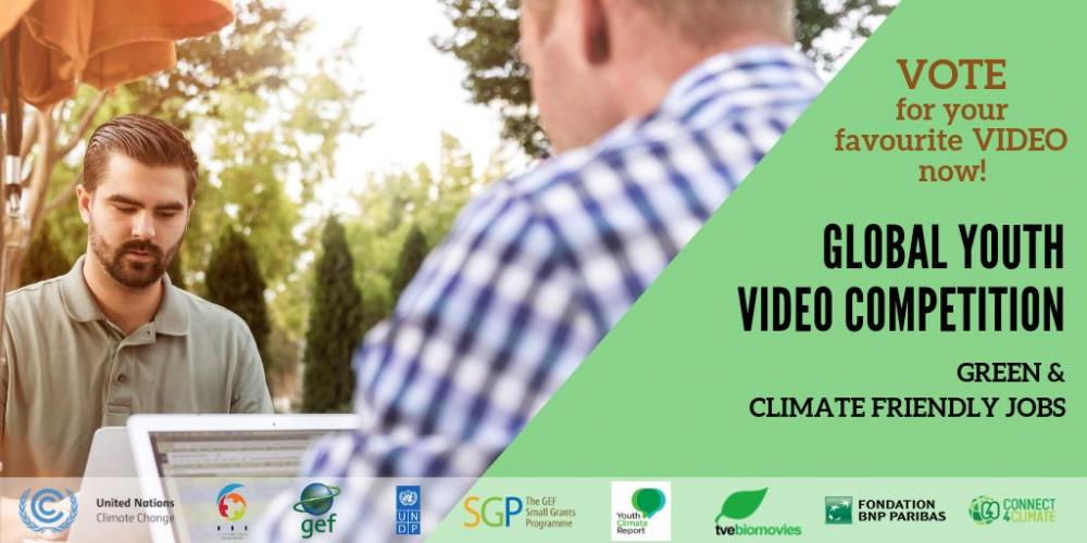 Green and climate friendly jobs - Global Youth Video Competition 2018
