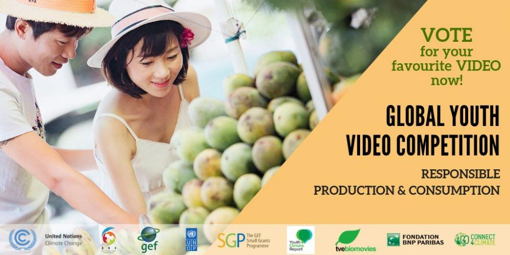Responsible production and consumption - Global Youth Video Competition 2018