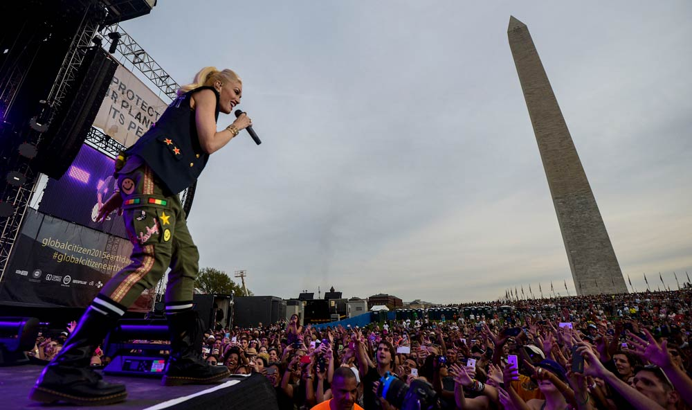 Music4Climate: No Doubt on the National Mall in Washington D.C. - Global Citizen 2015 Earth Day