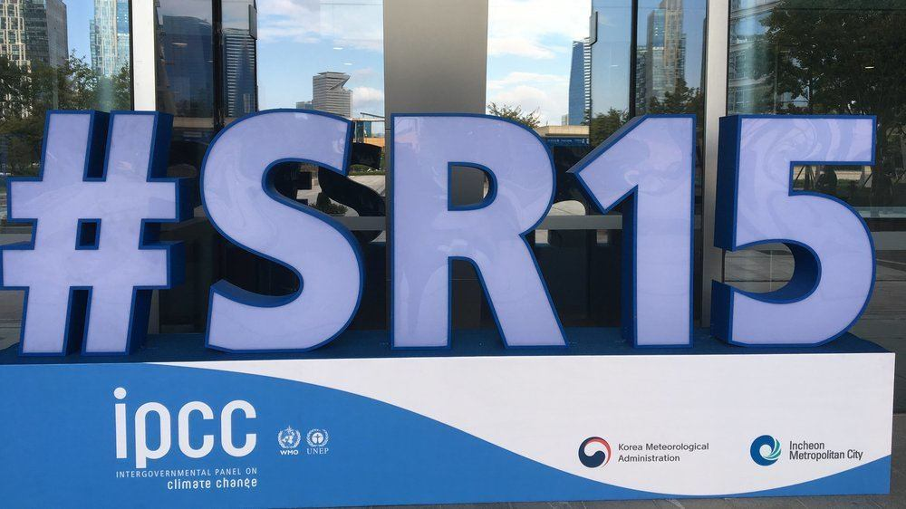 Intergovernmental Panel on Climate Change considers 1.5°C report.