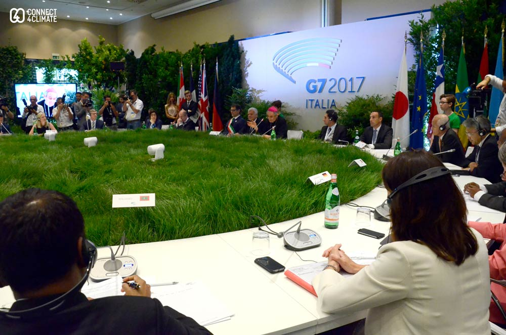 G7 Environment Ministers met in Bologna.