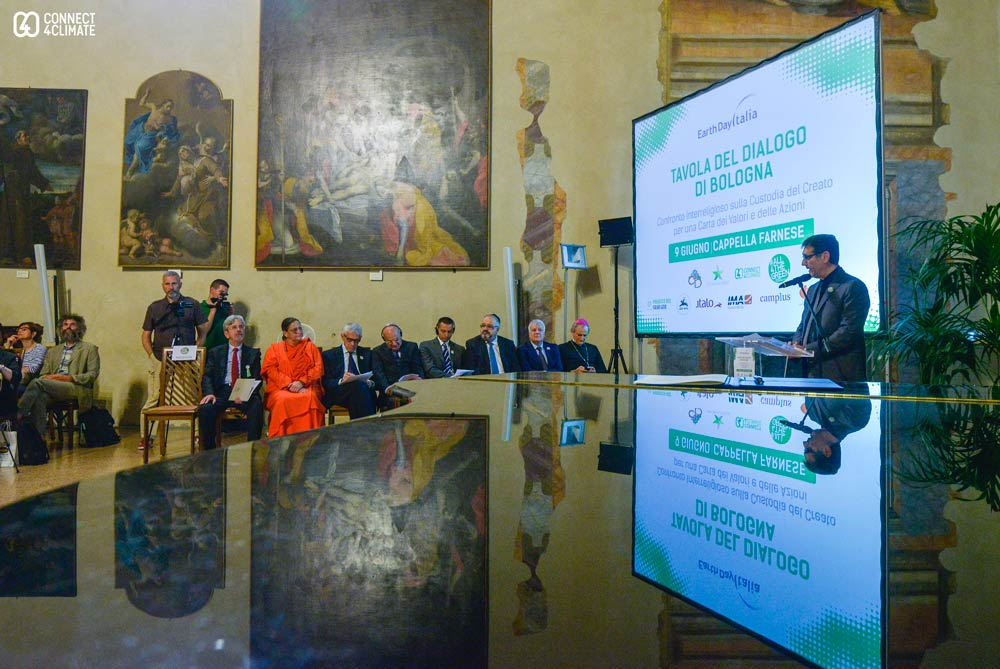 Interfaith Dialogue at Capella Farnese, Bologna, All4TheGreen