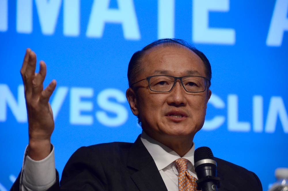 Jim Yong Kim, Unlocking Financing for Climate Action, Spring Meetings 2017