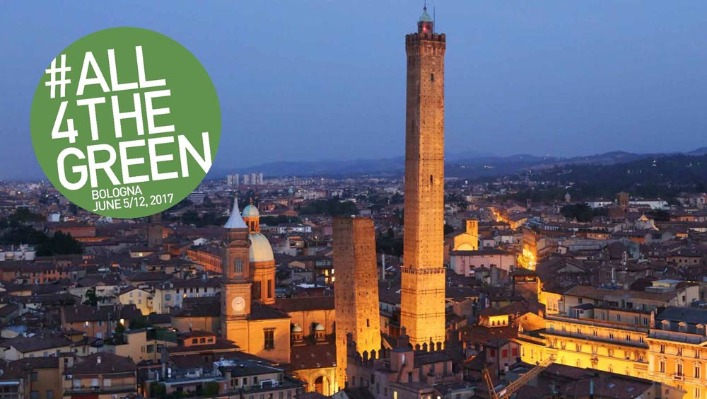 Bologna is #All4TheGreen