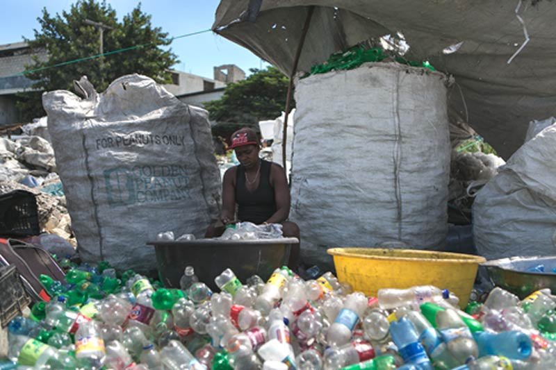 Cleaning our Oceans of Plastic, Solving Extreme Poverty and Reducing Emissions of Global Supply Chains, Haiti, Southeast Asia, UNFCCC
