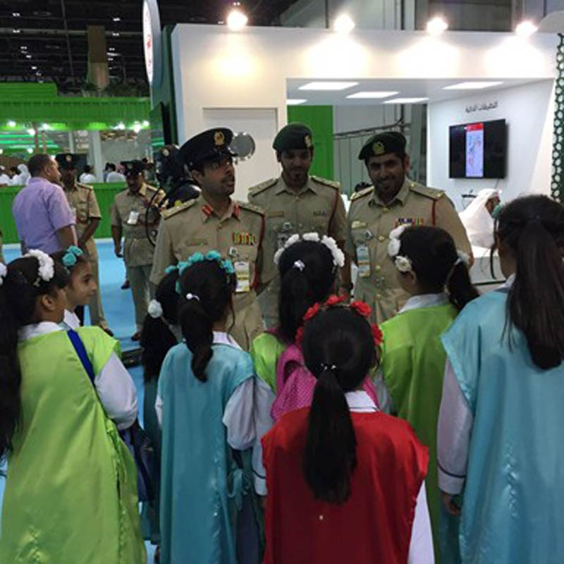 The Zero Carbon Police Force, United Arab Emirates, UNFCCC