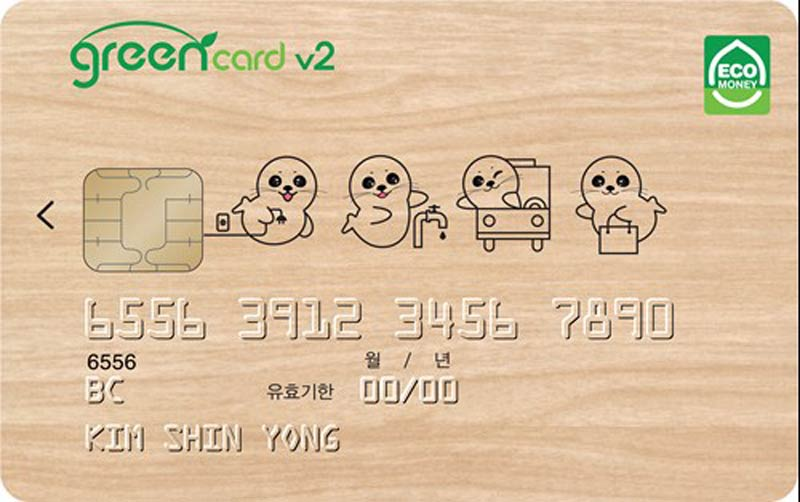 Green Credit Card, South Korea, UNFCCC
