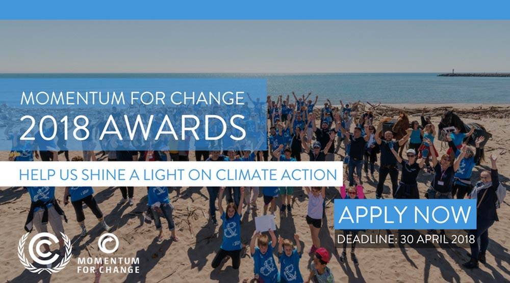 Momentum for Change 2018 Awards Call for Applications