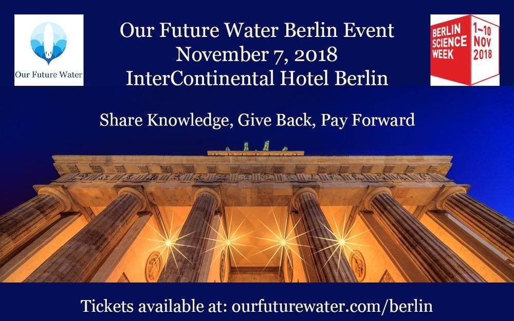 Our Future Water Berlin 2018