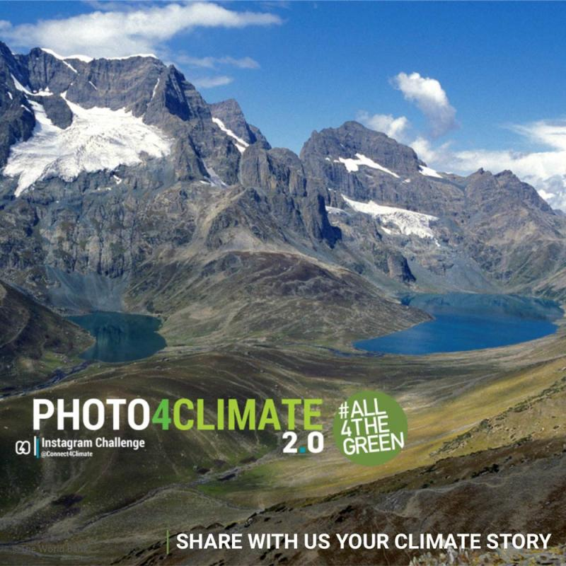 Share with us your climate story, Photo4Climate Instagram Photo Challenge, #All4theGreen