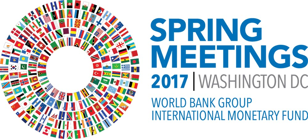 2017 spring meetings of the world bank group and the imf banner and thumbnail photo credits to simone d mccourtie world bank sciox Images