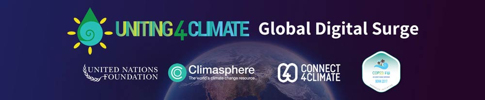 Uniting4Climate Global Digital Surge