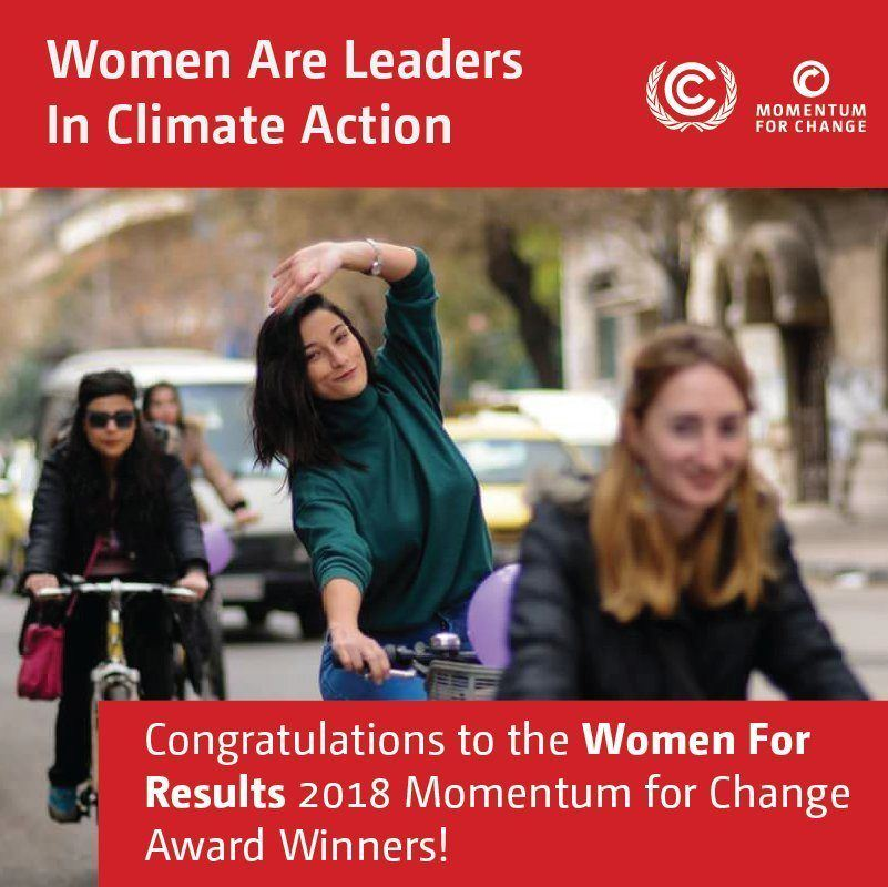 Women for Results - Momentum For Change UNFCCC