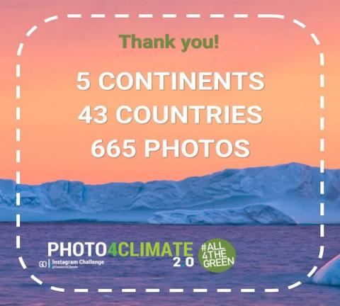 All4TheGreen: 5 Continents, 43 Countries, 665 Photos. Thank you!
