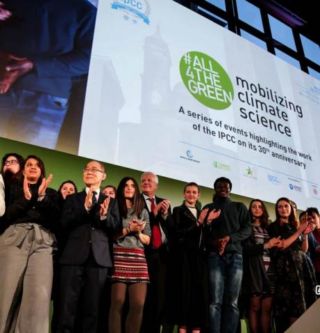 Connect4Climate's message from #All4TheGreen - Mobilizing Climate Science