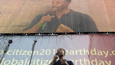Connect4Climate Takes Center Stage on Global Citizen 2015 Earth Day