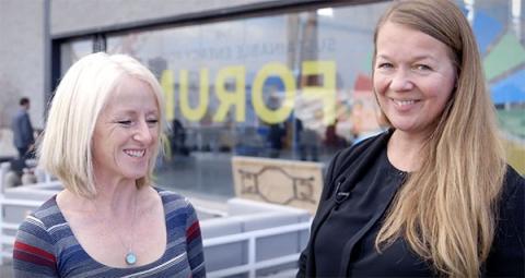 Jane Ebinger & Barbara Buchner at Sustainable Energy for All Forum