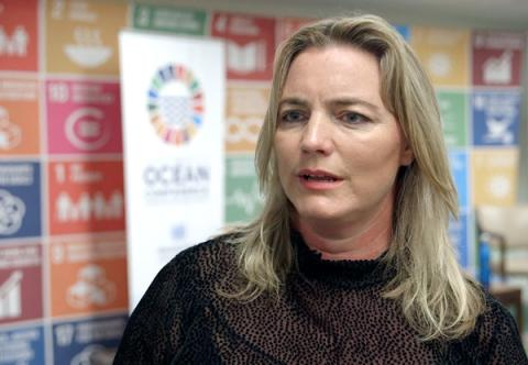 Karina Holden talks about finding new ways to communicate environmental issues #SaveOurOcean