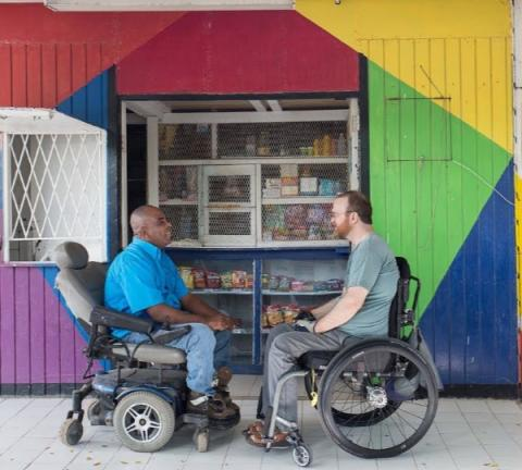 This is What Happens When You Send a Disabled Filmmaker to Jamaica | Connect4Climate