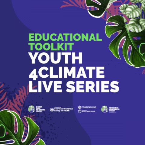 #Youth4ClimateLive Educational Toolkit Connect4Climate