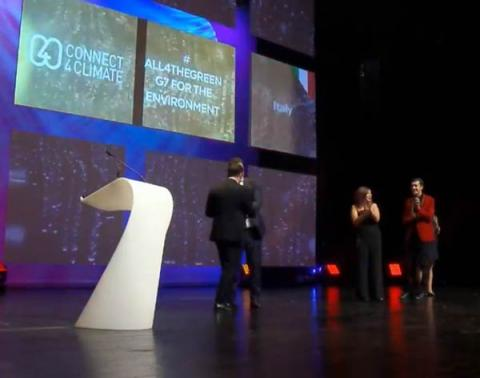 Connect4Climate and Alphaomega awarded World's Best Sustainability Event with #All4TheGreen