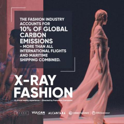 The fashion industry is estimated to be responsible for 10% of global carbon emissions.