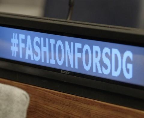 It's time to make Fashion Sustainable #Fashion4Climate