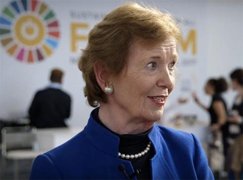 Mary Robinson at Sustainable Energy for All Forum