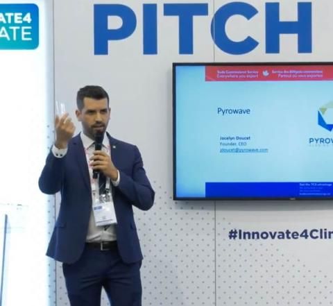 Pyrowave - Pitch Hub Innovate4Climate 2018