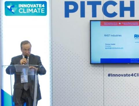 RHST Industries - Pitch Hub Innovate4Climate 2018