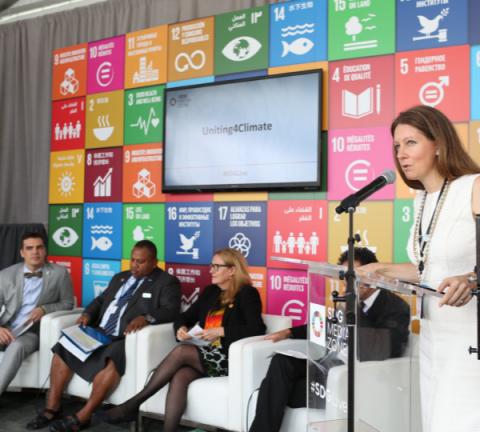 Uniting4Climate Panel at UNGA72 SDG Media Zone
